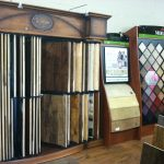 Hardwood and Carpet floor samples at Pro Jan Flooring